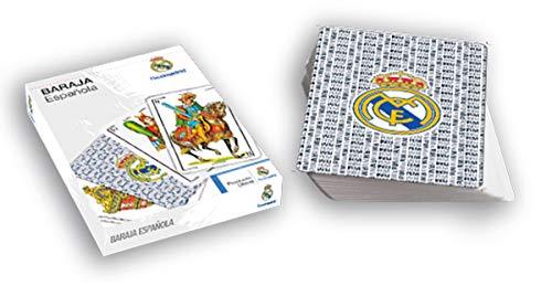 Eleven Force - Naipes Baraja Española, Real Madrid CF