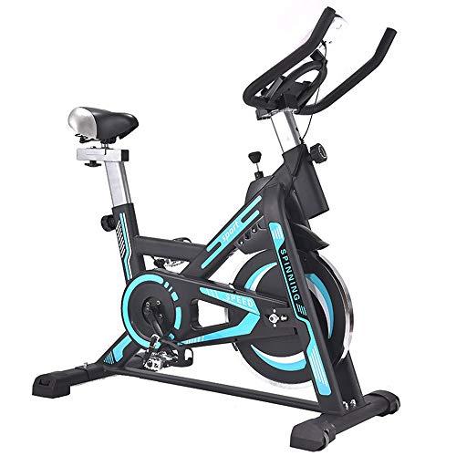 Yingm Fitness en Cualquier Momento Bicicleta de Spinning silencioso Ciclismo Bicicleta de Ejercicio Ejercicios en casa aparatos de Ejercicios Práctica Bicicleta Estática