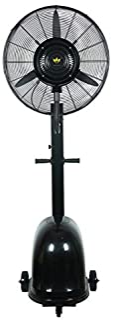 Ventilador de pedestal Ventilador de enfriamiento de pie de alta velocidad Grande Ajustable Servicio pesado 3 velocidades Portátil Ideal para gimnasio en casa Hidropónico, Oficina Industrial