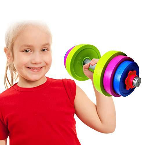 N/K Verstellbares Hantel-Spielzeugset Kinder-Fitness-Sportspielzeug Kindergarten-Sport-Hantel-Set - Kann mit Wasser gefüllt Werden