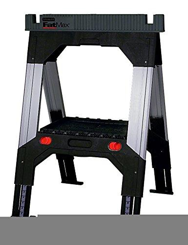 LZQ 4x Ger/üstbock 7-fach H/öhenverstellbar 80-130cm Teleskop-Arbeitsbock Unterstellbock Klappbock St/ützbock Ger/üst Arbeitsbock