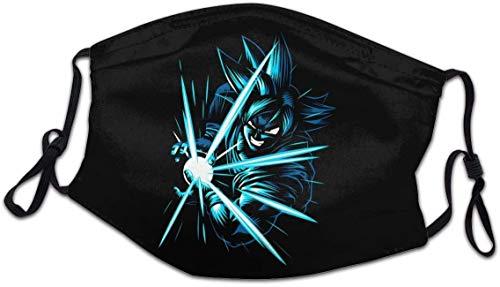 Dragon Ball Z Super Orejeras para colgar, bandana a prueba de viento