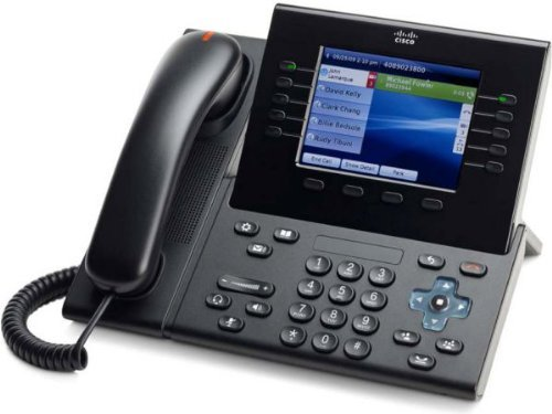 Cisco CP-9951-C-K9 VOIP Phone � PoE, Requires Cisco Call Manager (Renewed)