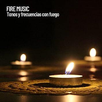 Fire Music: Tonos y frecuencias con fuego
