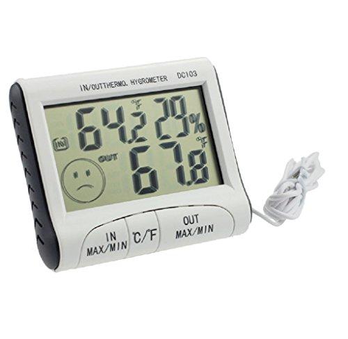 HARRYSTORE Home Gebrauch LCD DisplayThermometer Feuchtigkeit Temperatur Hygrometer