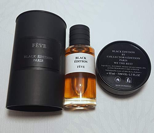 Parfum mixte Collection Privée Fève Black Editon intense (N 6 senteur délicieuse)