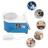 Máquina eléctrica de la rueda de la cerámica, máquina de moldear de cerámica de DIY con los...
