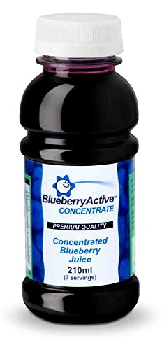 Blueberry Erryactive 100% Blueberry Juice Concentrate (7Servings) 210ml