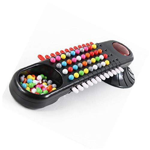 1pc Mastermind Puzzle-Spiele Bead Clue Brettspiel Codebreaker Brain Game Logic Game Toy Alter 8 Und Oben