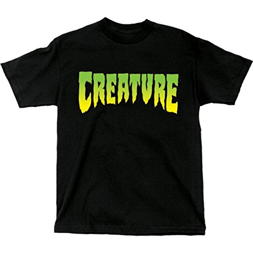 Creature Logo XL schwarz Short Sleeve