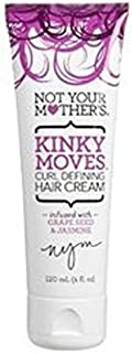 Not Your Mothers Kinky Moves Hair Cream 4 Ounce (Curl Define) (120ml) (2 Pack)
