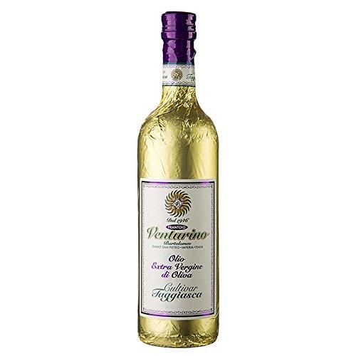 Olivenöl Venturino, 750 ml 100{ee638582cd1b67f46dec95a2c15b363eda4c4f2e24efaf062f2124e66cb6b145} Taggiasca Oliven