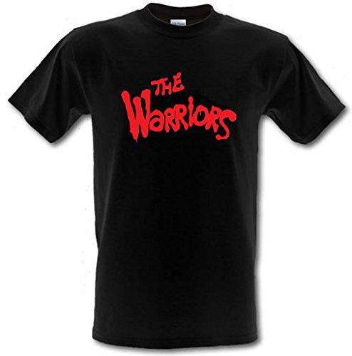 Los guerreros culto película Street Gang Retro Gildan Heavy Cotton T-Shirt Pequeño-XXL negro negro L