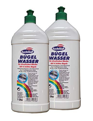 Preisvergleich Produktbild 2 x Kuschelduft Bügelwasser Citrusfrische 1l,  Wäschewasser,  Bügeln