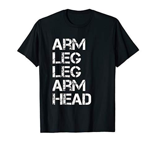 Arm Leg Leg Arm Head Allah NGE 5 percent t shirt T-Shirt