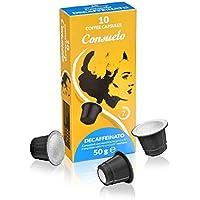Consuelo - cápsulas de café compatibles con Nespresso* - Descafeinado, 100 cápsulas (10x10)