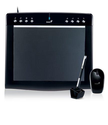 Genius Graphic Tablet Bundle with Adobe PS Elements 9 and Corel Painter Essentials 4 (Genius PenSketch M912A)