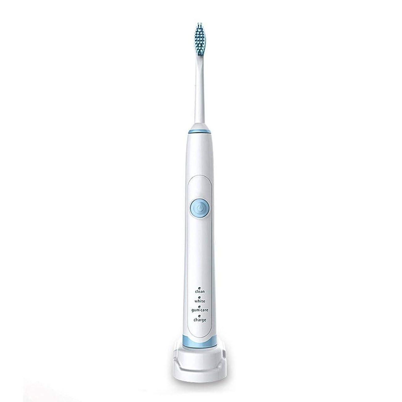 いちゃつく具体的に期待して超音波電動歯ブラシ誘導充電電動歯ブラシ防水完全洗濯可能2分スマートタイマー3ブラッシングモード