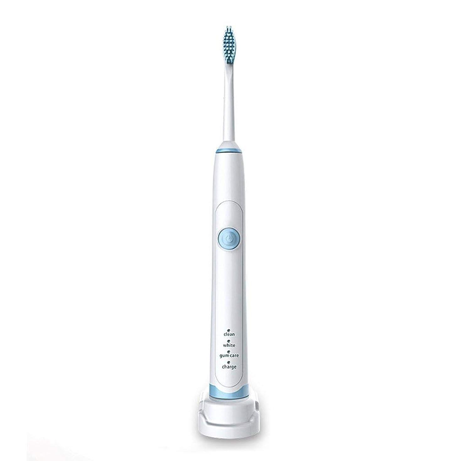 傾向があります電気タイル超音波電動歯ブラシ誘導充電電動歯ブラシ防水完全洗濯可能2分スマートタイマー3ブラッシングモード