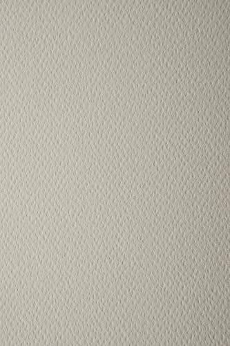 10 Blatt Hell-Grau 220g Tonkarton einseitig strukturiert DIN A4 210x297 mm Prisma Grigio Strukturkarton durchgefärbt Karten-Karton mit Textur bunt Foto-Karton mit Prägung A4