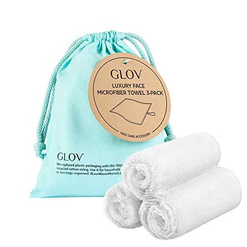 Reinigungstücher für das Gesicht Mikrofaser Make-Up Entferner Tuch Umweltfreundliche Microfaser Gesichtsreinigungstuch Waschlappen Abschminktücher Radierer Hypoallergene Waschbar 3er Set