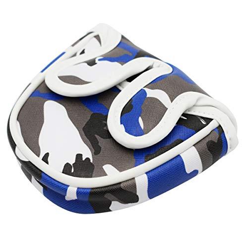 瀬戸屋 パターカバー 磁石タイプ開閉 オデッセイ2ボール テーラーメイド スパイダーパター センターシャフトに適合 TGMT-01(半円形)