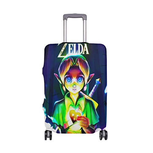Travel Lage Cover Legend of Zelda Unhealing Heart Cover Suitcase Protector Fits 26-28 Inch Washable Baggage Covers