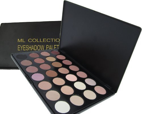 ML Collection NEW!!! 28 Color Warm, Neutral, Matte, Slightly Shimmered Eyeshadow Palette by ML Collection