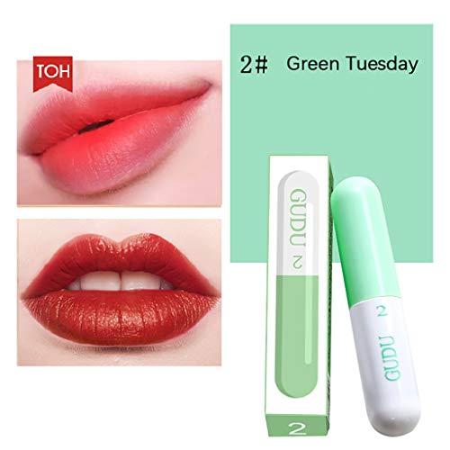Clothful Net Red Week Capsule Lip Glaze Student Mini Lip Gloss Makeup B Lipstick