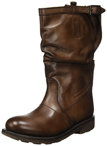 Bikkembergs Vintage 1176, Zapatillas Altas Mujer, Marrón TDM 610, 38 EU