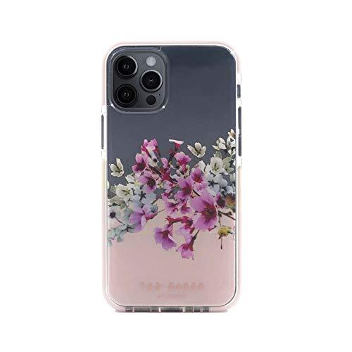 Ted Baker (テッドベーカー) iPhone12mini ケース クリア Anti-Shock Case 花 耐衝撃 衝撃 保護 カバー (Jasmine Clear)