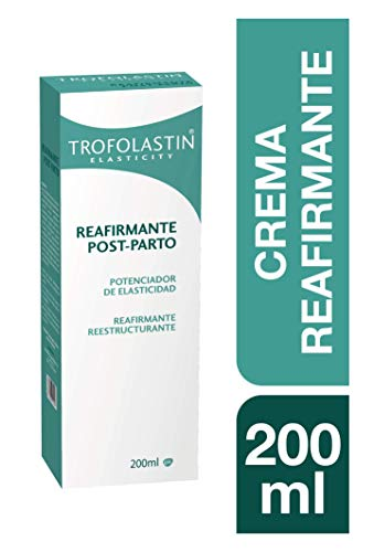 Trofolastin - Crema Reafirmante Post Parto, Reafirmante y Reestructurante - 200 ml, Blanco