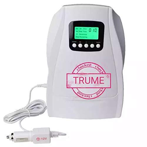 XYYMC 500 MG h Ozonizador, Generador de Ozono Doméstico Digital Negative Ion purificador de Aire Limpieza y desinfección Dispositivo para el Agua, Verduras, Frutas, etc