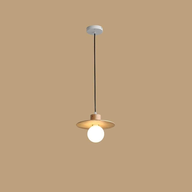 XSWZAQ Nordischen Stil Restaurant Kronleuchter einfache Moderne Massivholzlampen japanischen kreative Esszimmerlampe LED-Lampen