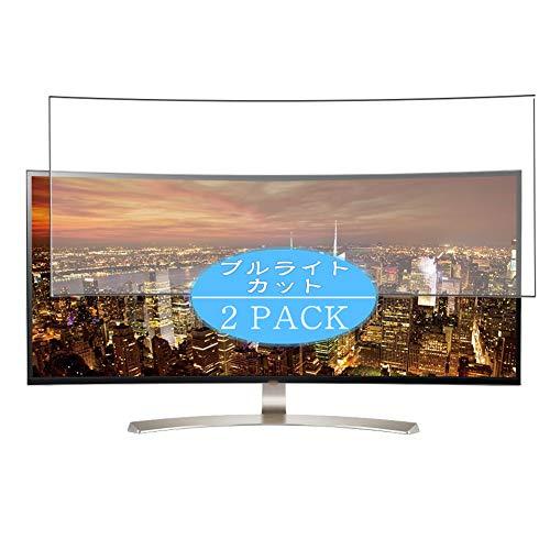 VacFun 2 Piezas Filtro Luz Azul Protector de Pantalla Compatible con LG 38UC99-W 37.5' Display Monitor, Screen Protector...
