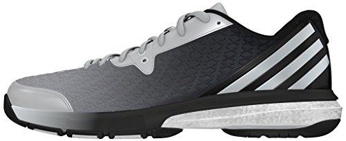 adidas Damen Energy Volley Boost 2.0 W Turnschuhe, Black (Negbas/Plamat/Plamat), 41 1/3 EU