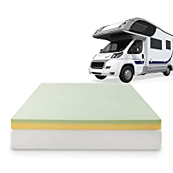memory foam topper for bad backs and hips in rv