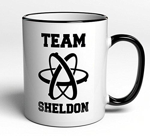 Tasse Team Sheldon - Big Bang Theory - Fanartikel Geschenk