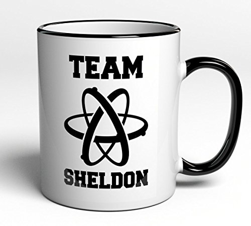 Tasse Team Sheldon - Big Bang Theory - Fanartikel Geschenk