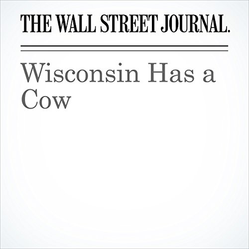 Wisconsin Has a Cow copertina
