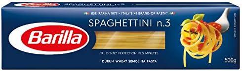Macarrão Grano Duro Spaghettini N.3 Barilla 500g