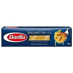 Barilla Pâtes Spaghettini N°3 500 g