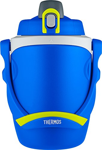Thermos 64 Ounce Foam Insulated Hydration Bottle, Blue