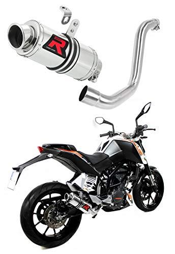 125 Duke Escape Moto Deportivo GP I Silenciador Dominator Exhaust Racing Slip-on 2012 2013 2014 2015 2016