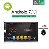 2 GB RAM 32 G ROM 17,8 cm 1024 * 600 HD Screen Android 6.0 Car Multimedia Player Navigation Stereo für Universal Quad Core Doppel 2 DIN Autoradio Head Unit nicht DVD/CD Player GRATIS...