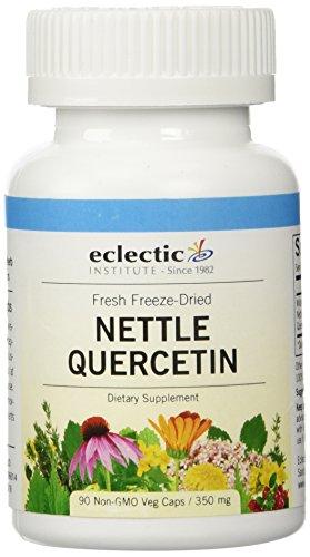 Eclectic Institute Raw Fresh Freeze-Dried Nettle Quercetin, 90 Non-GMO 350 mg Veg caps