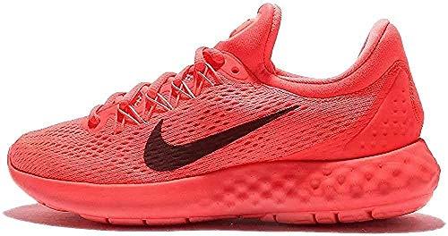 Nike Wmns Lunar Skyelux, Zapatillas de Entrenamiento para Mujer, Naranja (Coral / Negro / Hot Punch / Night Maroon / Lava Glow), 41 EU