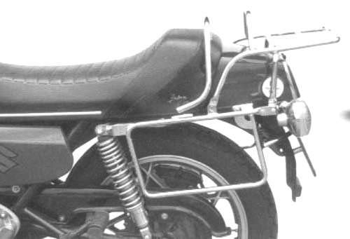Hepco&Becker Complete Carrier Set Consisting of Side Luggage Rack and Luggage Bridge Chrome for Suzuki GS 1000 E