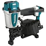 Makita AN454 Clavadora neumática 4,9-8,3 Bar/Capacidad de Carga 120 pcs, multicolor