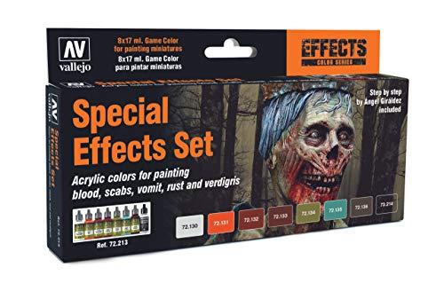 Acrylicos Vallejo'Game color set effetti speciali
